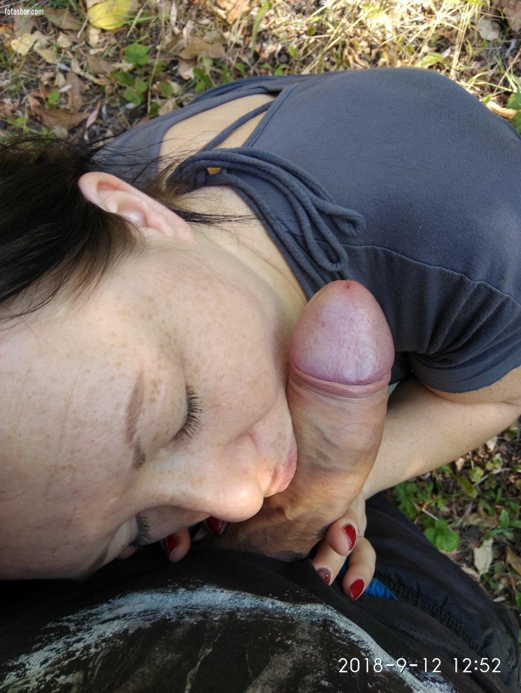 Порно онлайн русская шлюха сосет в лесу — pic 12