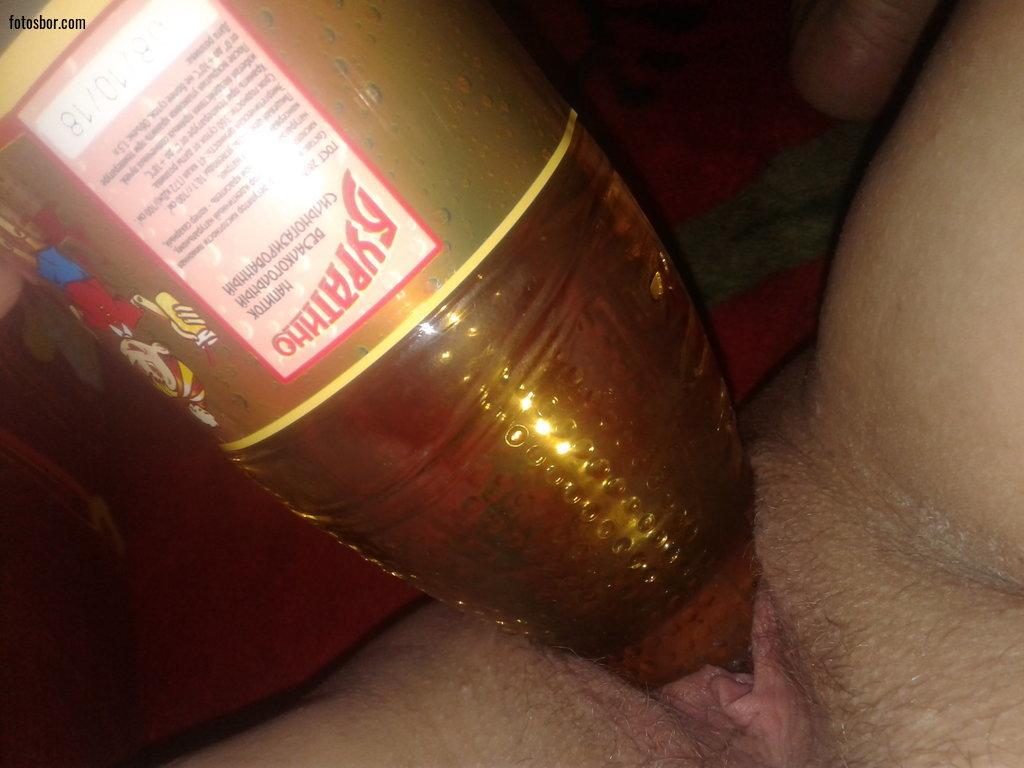 Бутылка Во Влагалище Фото
