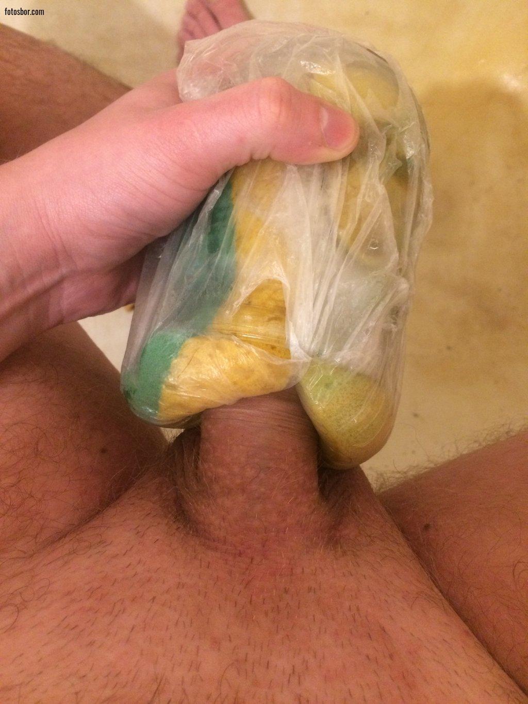 popu-samodelnaya-vagina-iz-banana-parnyu-lesu
