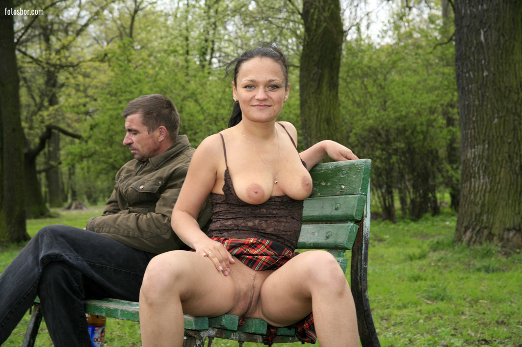в парке осенью на лавке порно - 12